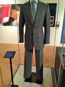 Commissioned suit from Leeds born Savile Row tailor - Kathryn Sargent