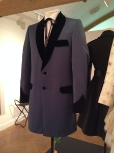 "Love the tailoring on this ""Teddy Boy"" jacket"
