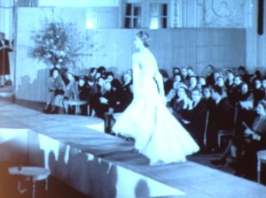 Another exhibition, another archive film intro - couture at it's best